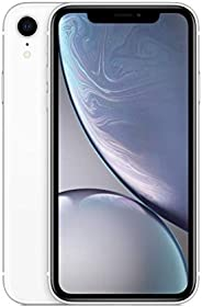 Apple iPhone XR (64GB, White) [Locked] + Carrier Subscription