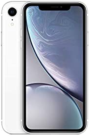 Apple iPhone XR [64GB, White] + Carrier Subscription [Cricket Wireless]
