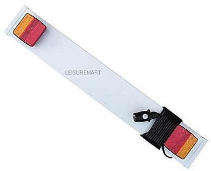 leisure MART LED Trailer lighting board 3ft with 4 meters of 6 core cable Part no LMX1383