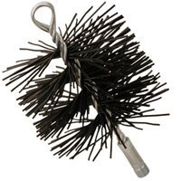 Imperial Manufacturing Brush Chimney Clen 5In 3/8Npsm - Poly Brush Chimney Round