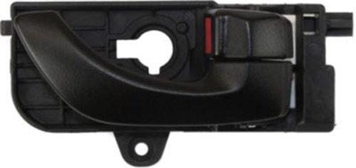OE Replacement Front Passenger Side Black Interior Door Handle with Door Lock Button for Hyundai - REPHY462161
