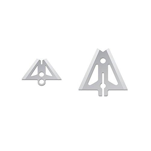 Slick Trick VT Extra 100/125 GR Broadhead (Pack of 4), 1-1/16, Silver