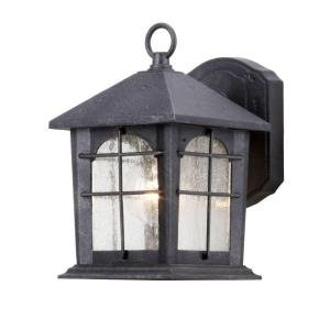 Cheap Hampton Bay Aged Iron 5.5 In. Outdoor Wall Lantern HB48023P-151