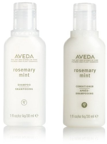 Aveda Rosemary Mint Conditioner and Shampoo Lot of 24 Bottles (12 of each). Total of 24oz. (Conditioner Mint Aveda Rosemary)