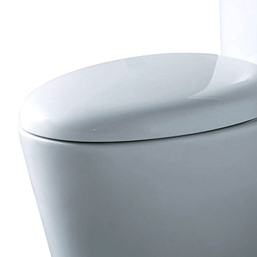 Ariel CO-1009 Monterey Contemporary Elongated One Piece Toilet with Dual Flush by Ariel