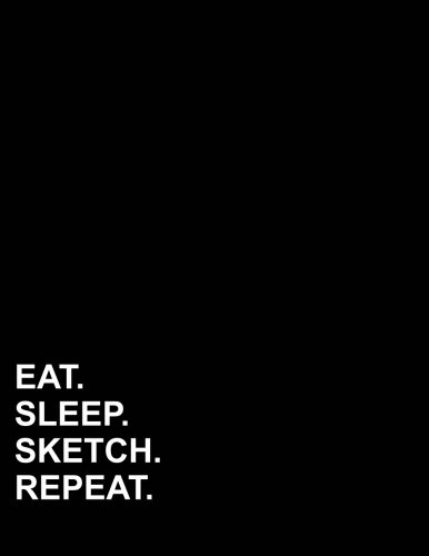"Read Online Eat Sleep Sketch Repeat: Three Column Ledger Ledger Pad,Record Book, Ledger Books For Bookkeeping, 8.5"" x 11"", 100 pages (Volume 96) PDF"