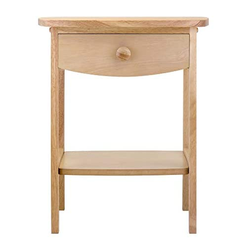 Winsome 82218 Wood Claire Accent Table, Natural 18 inches