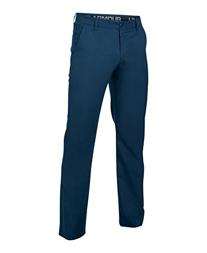 (Under Armour Men's Light Weight Performance Chino Pants, Academy /Academy, 30/34)