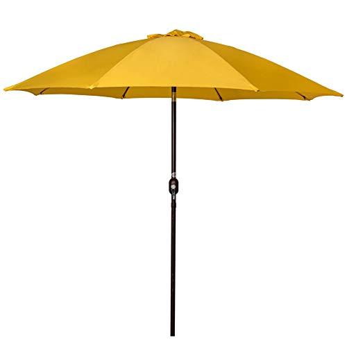 aluminum market umbrella table