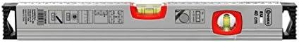 40 cm Connex COX735040 Euro Spirit Level of Aluminium Silver