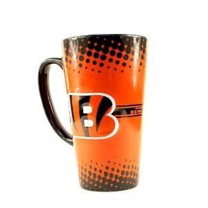 NFL Officially Licensed Cincinnati Bengals 16 Oz Sculpted Latte Mug