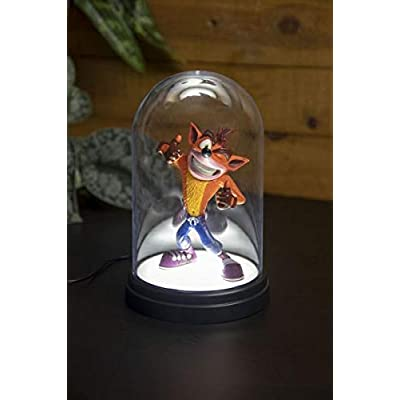 Paladone Crash Bandicoot Bell Jar Light - Video Game Light Accessory: Video Games