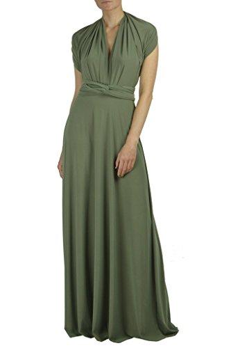Dress In Maxi Transformer Infinity USA Moss LA Convertible Ivon Made wx0HE8