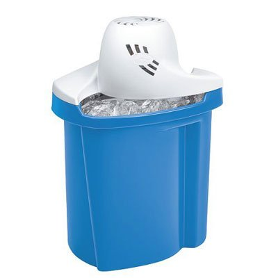 Rival 8804-BL 4-Quart Oval Ice Cream Bucket, Blue - Oval Ice Cream Maker
