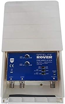 Amplificador de mastil 2e UHF con Filtro 5G