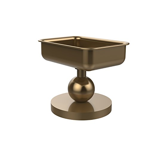 Allied Brass GL-56-BBR Vanity Top Soap Dish Brushed Bronze