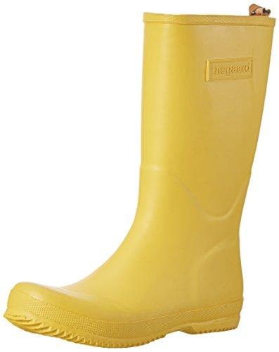 Bisgaard Unisex-Kinder Rubber Boot Star Gummistiefel, Gelb (80 Yellow), 31 EU