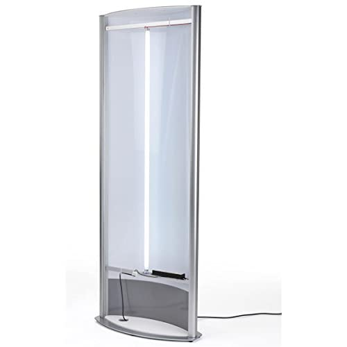 hot sale Floor-Standing Curved Poster Stand for (2) 27\