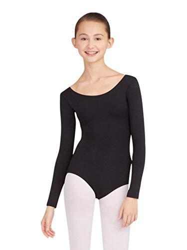 Capezio Women's Long Sleeve Leotard,Black,Large