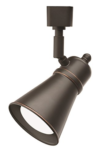 Lithonia Lighting LTHBRSD BR20 LED 27K ORB M4 8W 500 lm LED Lamp Shade Track Head, Bronze