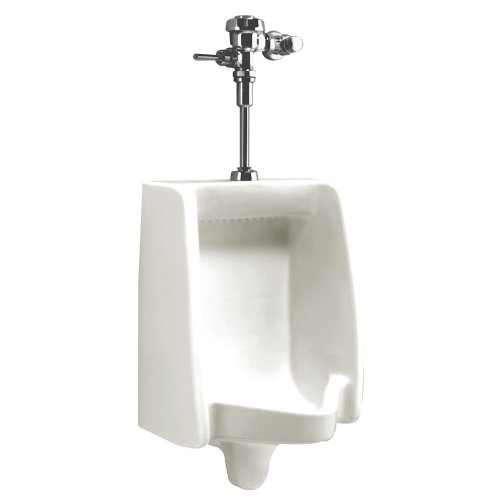 Washbrook Urinal (American Standard 6501.010.020 Washbrook 14-by-18-1/2-Inch 0.7-to-1.0-Gallon Per Flush Urinal with Top Spud and Washout Flush Action, White)
