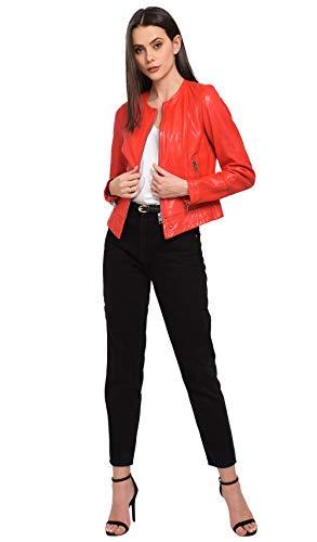 0539 Oakwood Foncé Flame Rojo rouge Para Chaqueta Mujer 4zq074
