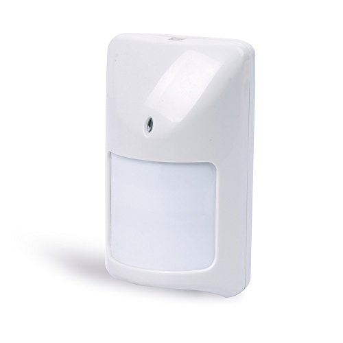 12V DC Wired Motion Detector PIR Infrared Sensor for Alarm System with Silent (Alarm Relay)