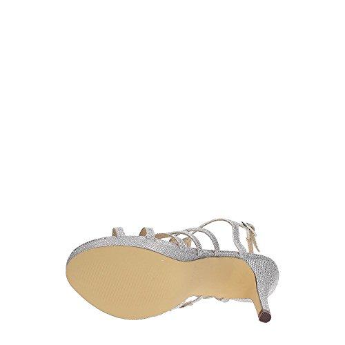 Sandalias Paco Plataforma Con Mena Mujer Begonia Silver 1TaTfxCn