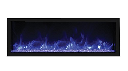 Cheap Remii Extra-Tall/Deep Indoor Electric Fireplace Black Steel Surround (102765-XT) Built-In 65-Inch Black Friday & Cyber Monday 2019