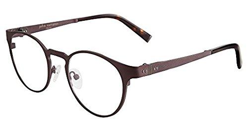 John Varvatos V155 Mens Eyeglasses Brown 48mm