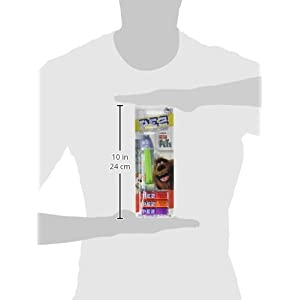 PEZ The Secret Life of Pets Assorted Dispensers, 0.87 Ounce (Pack of 12)