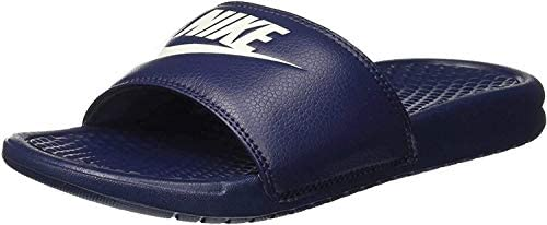 despierta Susceptibles a lucha  Nike Benassi Jdi, Men's Beach & Pool Flip Flops, Blue (Midnight  Navy/Windchill), 9 UK (44 EU): Buy Online at Best Price in UAE - Amazon.ae