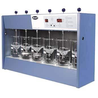 Stuart Flocculation Jar Tester, 6-Place; 230 VAC, 50 Hz by Stuart