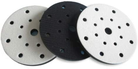Festool pour plateau de pon/çage 150mm avec 8+1 trous - Am/éliore la finition DFS parfaitement pour les formes m/ême complexes Interface mousse souple syst/ème velcro