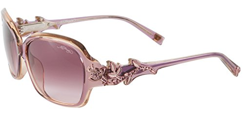 Ed Hardy EHS Rose With Thorns Women's Sunglasses - Champagne Lavender (Ed Hardy Accessories)