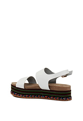 Sandaalit Alustan Lontoon Naisten Valkoinen Nilkkalenkki Rätti ZqZTRwBgUF