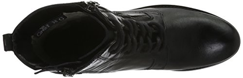 Caprice 25103, Botines para Mujer Negro (BLACK 001)