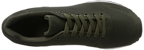 Armani Jeans Men's Sneaker Low Cut Trainers Green (Dark Green 1861 12985) free shipping get authentic clearance shopping online owCcuYEo