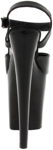 para mujer vestir XTREME Sandalias Spike de 809 Nero Pleaser qZzwXSvn