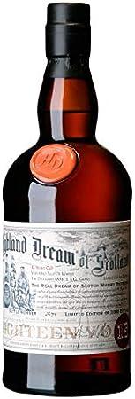 Highland Dream Whisky blended escocés, 18 años, 700ml