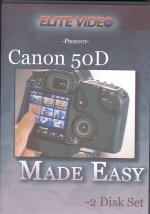(Canon 50D Made Easy (Two Tutorial DVD)