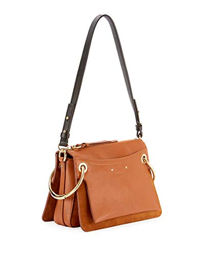 671fe2ee071e Chloe Roy Leather Suede Shoulder Bag  Handbags  Amazon.com
