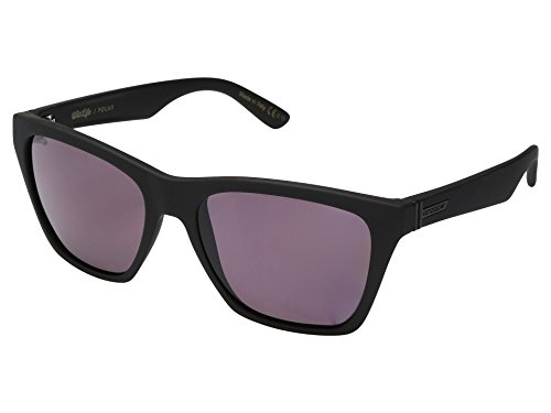 - VonZipper Unisex Booker Polarized Black Satin/Wild Rose Polar Sunglasses
