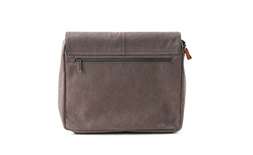 Bree Cain 5 14'' Laptop-Messenger Bag light grey