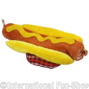 [Baoer Adult Hot Dog Hat] (Hot Dog Costume For Adults)