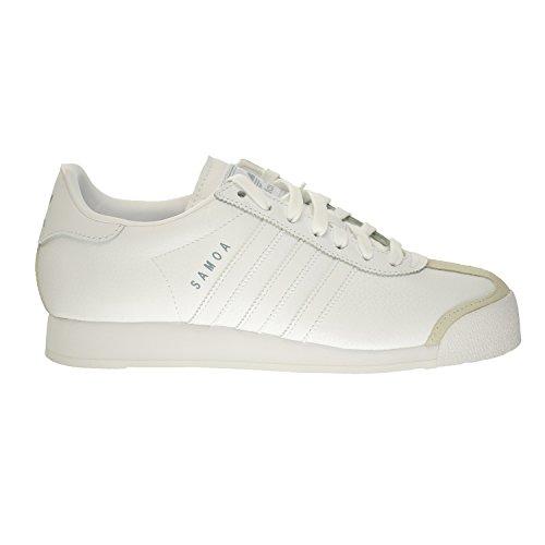 adidas Originals Herren Samoa Retro Sneaker Lauf Weiß / Silber