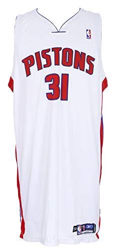 2004-05, Darko Milicic, Detroit Pistons, Game Worn