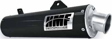 HMF Engineering Sport Series Slip-On - Brushed , Color: Brushed BDS650SAR