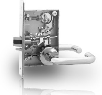 Sargent 8270-24V Electromechanical Mortise Lever Lock Body Only Fail Safe (24VDC) - Sargent Mortise Locks