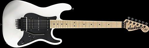 Jackson Adrian Smith Signature SDX Snow White 6-String Electric Guitar w/ Maple Fingerboard